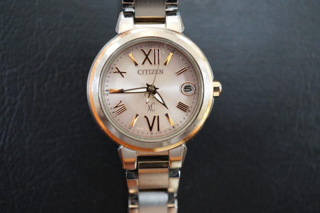 No.580   CITIZEN XC(シチズン) ソーラー腕時計を修理しました