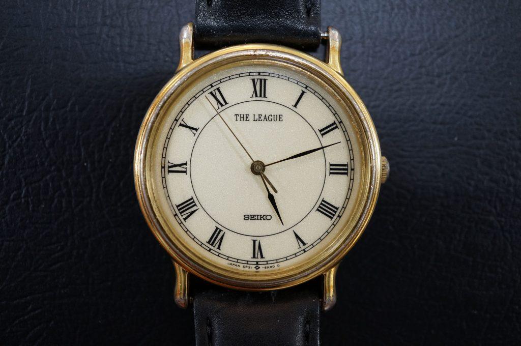 No.578   SEIKO(セイコー) クォーツ腕時計を修理しました