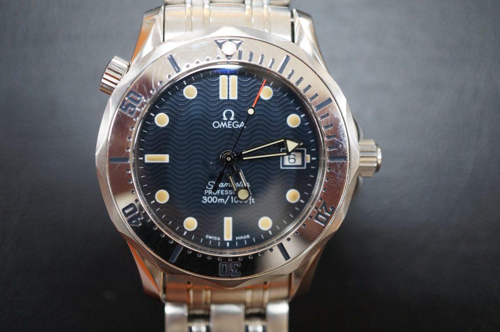 No.579   OMEGA Seamaster (オメガ シーマスター )  自動巻き腕時計を修理しました