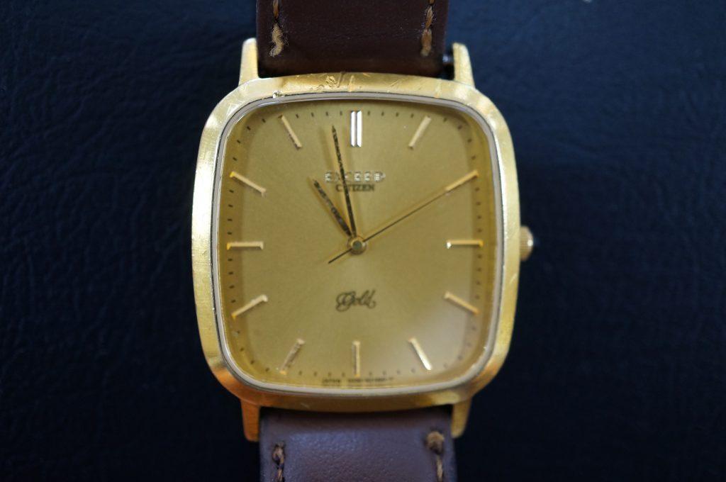 No.635  CITIZEN(シチズン) クォーツ 腕時計を修理しました