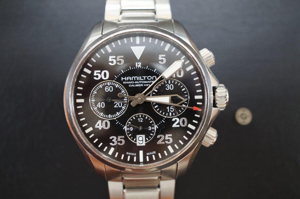 No.633  HAMILTON (ハミルトン) 自動巻き腕時計を修理しました