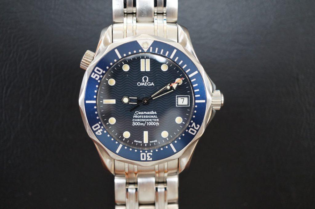 No.647   OMEGA Seamaster (オメガ シーマスター )  自動巻き腕時計を修理しました