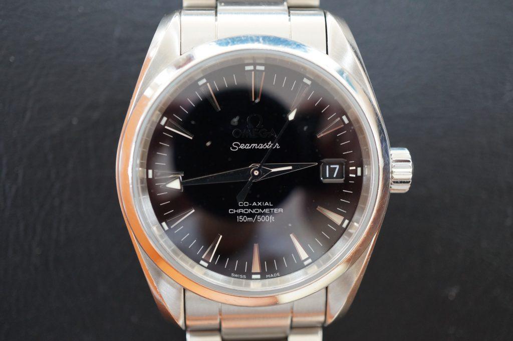 No.645  OMEGA  (オメガ コーアクシャルクロノメーター) 自動巻き腕時計を修理しました