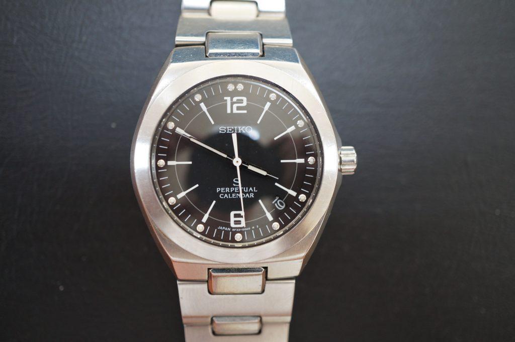 No.641   SEIKO PARPETUAL CALENDAR (セイコー) クォーツ腕時計を修理しました
