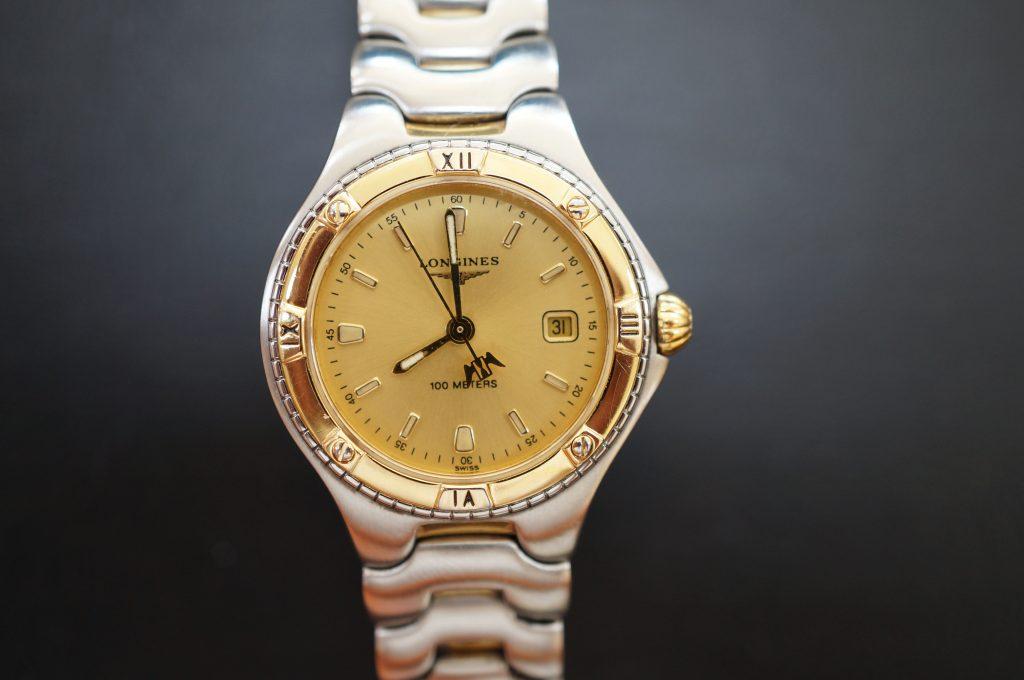 No.640   LONGNES (ロンジン) クォーツ腕時計を修理しました