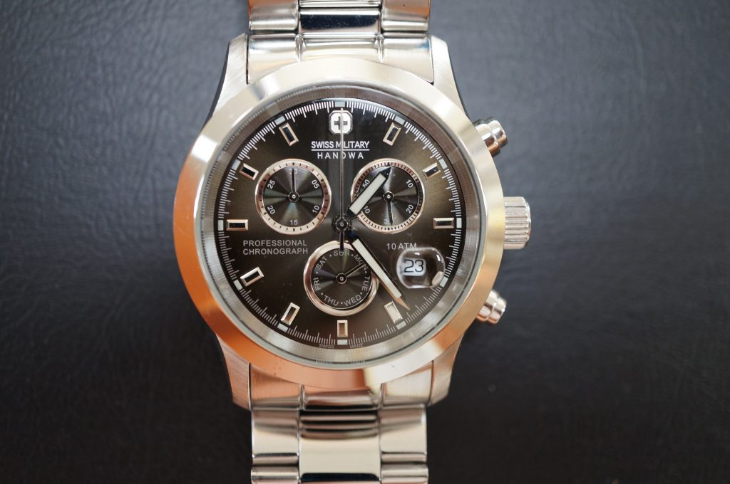No.639   SWISS MLITARY (スイスミリタリー) クォーツ腕時計を修理しました