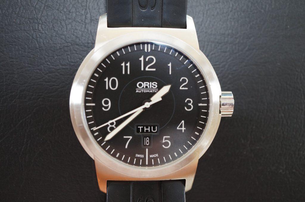 No.638  ORIS (オリス) 自動巻き腕時計を修理しました