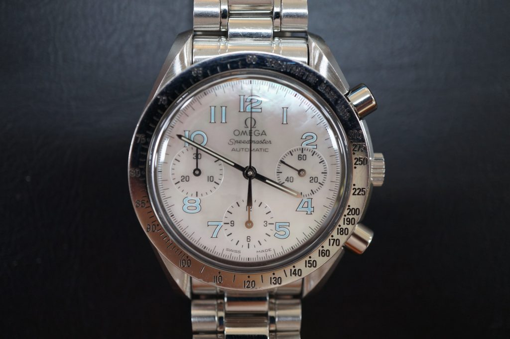 No.635  OMEGA Speedmaster (オメガスピードマスター) 自動巻き腕時計を修理しました
