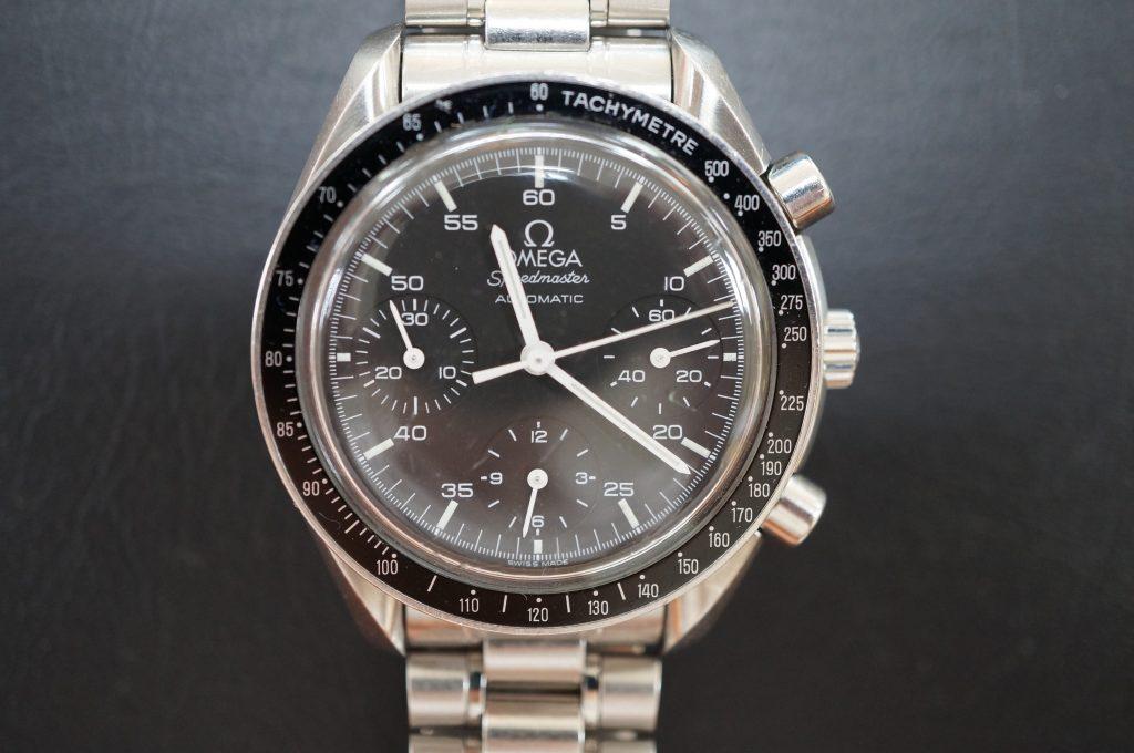 No.634  OMEGA Speedmaster (オメガスピードマスター) 自動巻き腕時計を修理しました