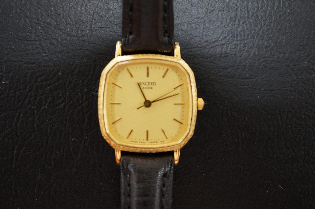 No.631   CITIZEN EXCEED (シチズン エクシード) クォーツ腕時計を修理しました
