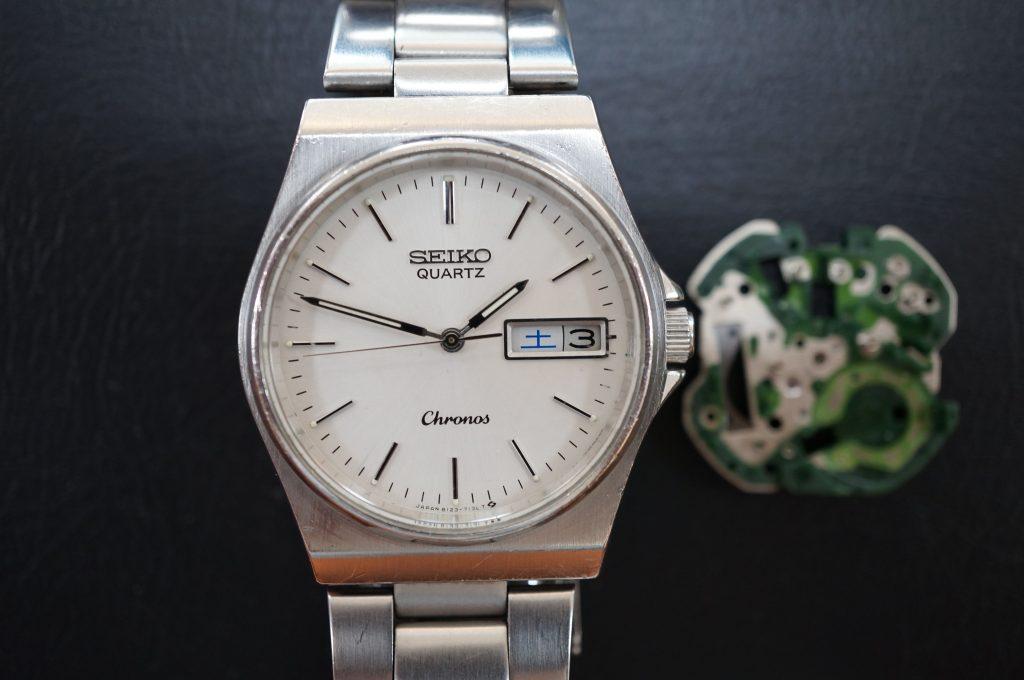 No.629   SEIKO (セイコー) クォーツ腕時計を修理しました