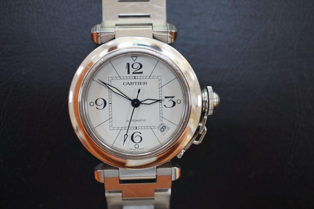 No.654  CARTER (カルティエ ) 自動巻き腕時計を修理しました