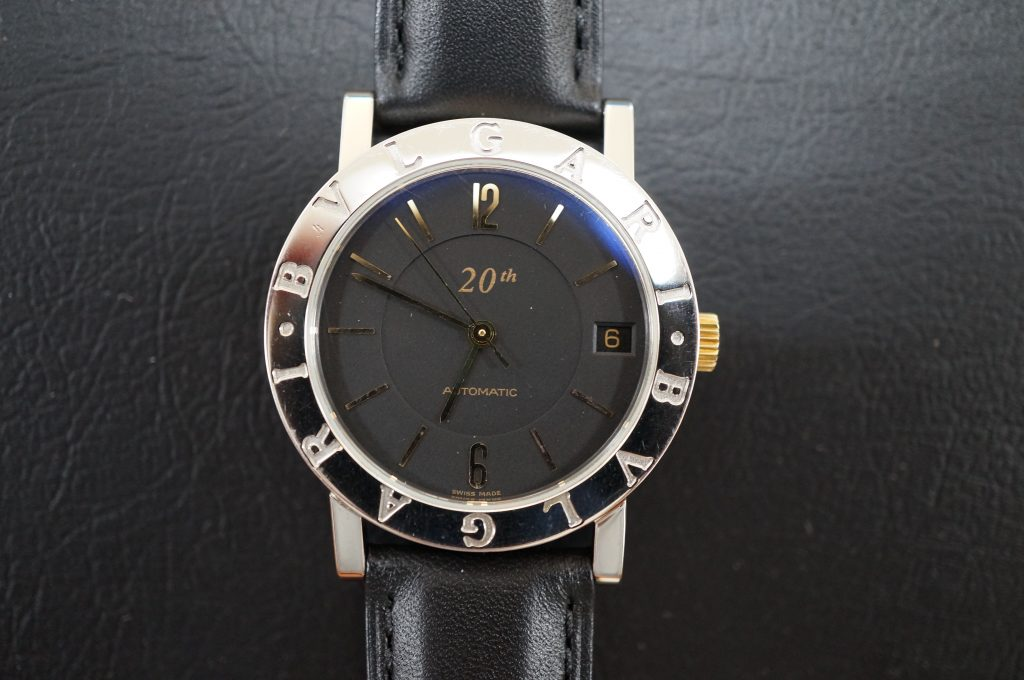 No.653  BVLGARI (ブルガリ ) 自動巻き腕時計を修理しました