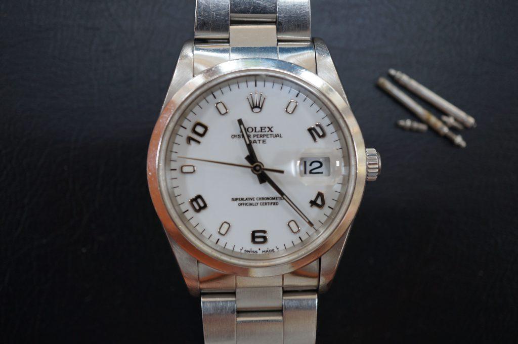 No.652  ROLEX (ロレックス ) 自動巻き腕時計を修理しました