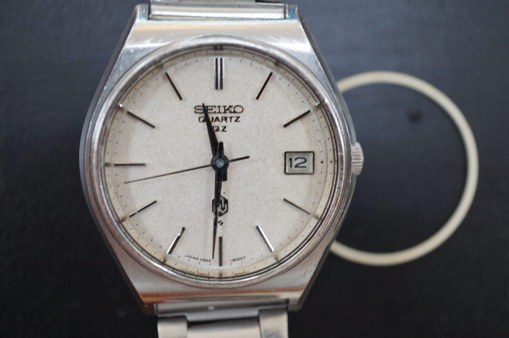 No.651   SEIKO (セイコー) クォーツ腕時計を修理しました