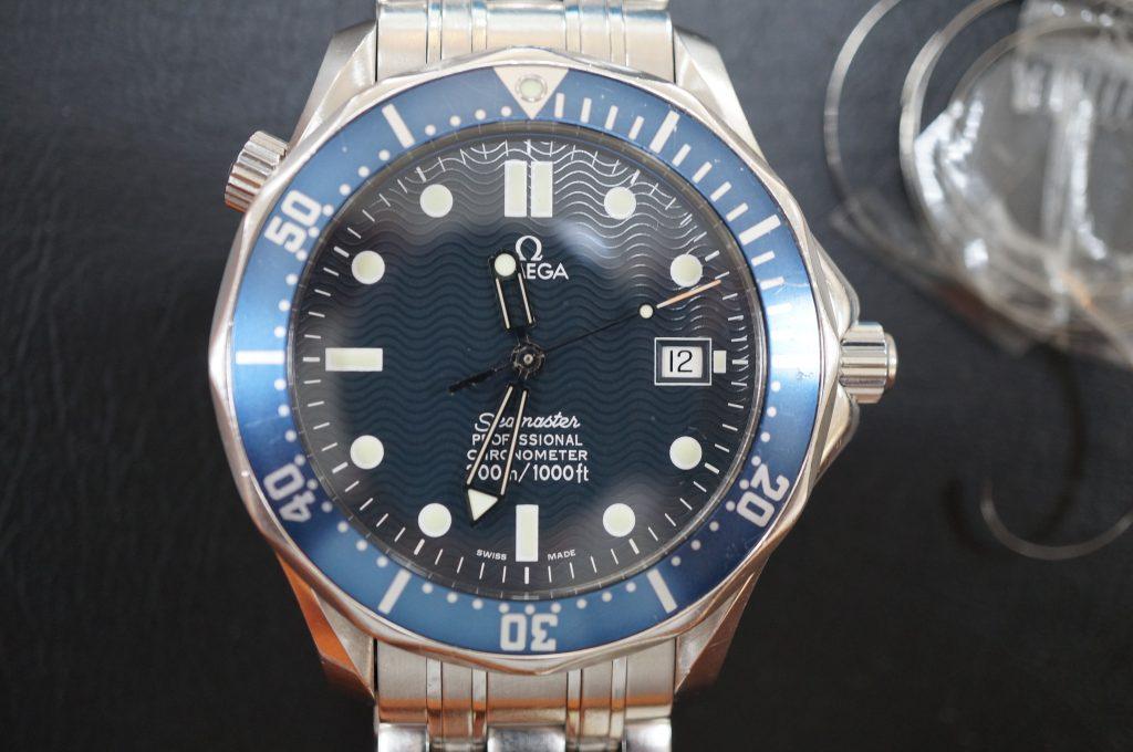No.649   OMEGA Seamaster (オメガ シーマスター )  自動巻き腕時計を修理しました