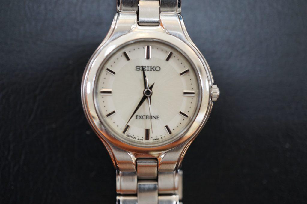 No.650   SEIKO EXCELINE(セイコーエクセリーヌ) クォーツ腕時計を修理しました