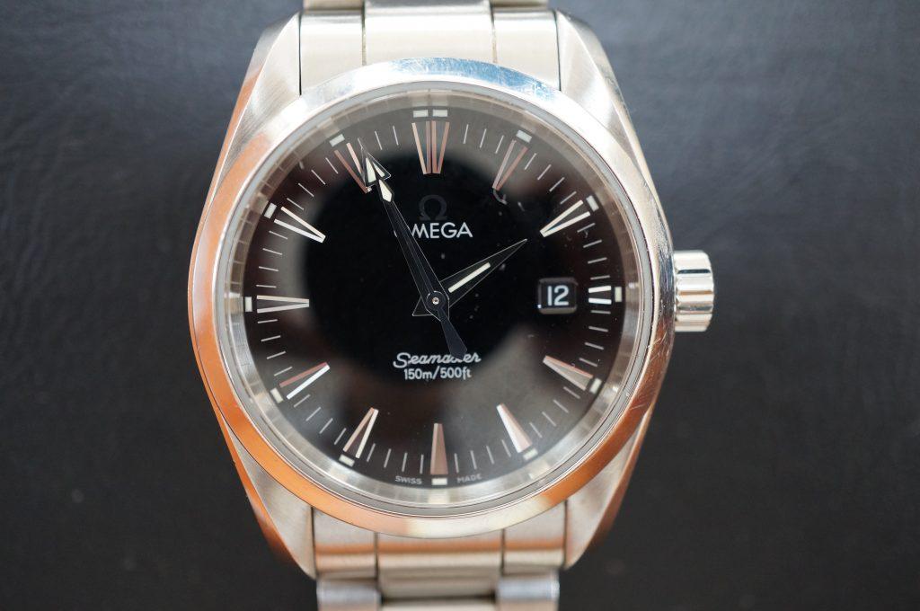 No.648   OMEGA Seamaster (オメガ シーマスター )  クォーツ腕時計を修理しました