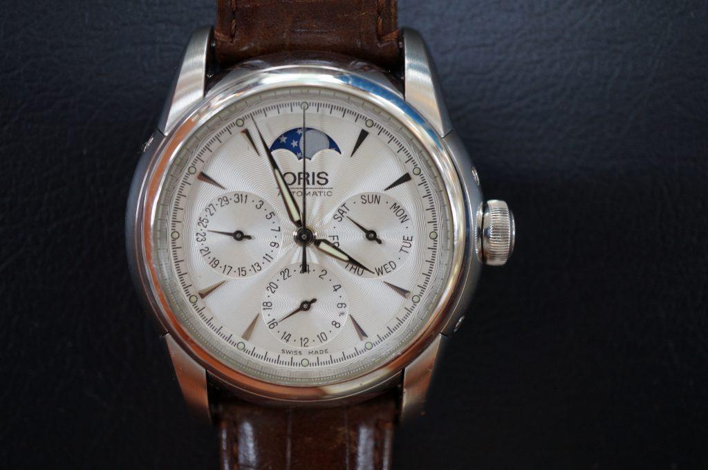 No.714  ORIS (オリス) 自動巻き腕時計を修理しました