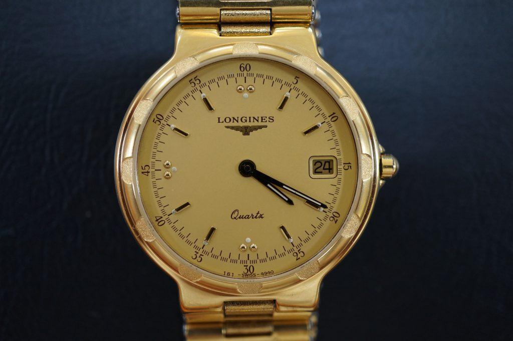 No.713   LONGINES (ロンジン) クォーツ腕時計を修理しました