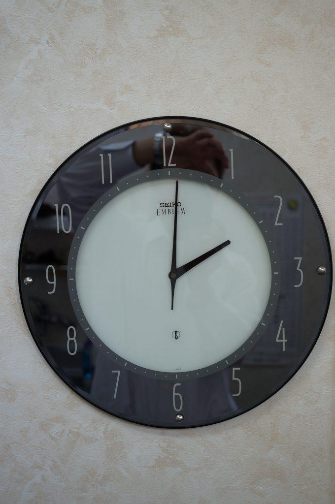 No.709   SEIKO (セイコー) クォーツ掛け時計を修理しました