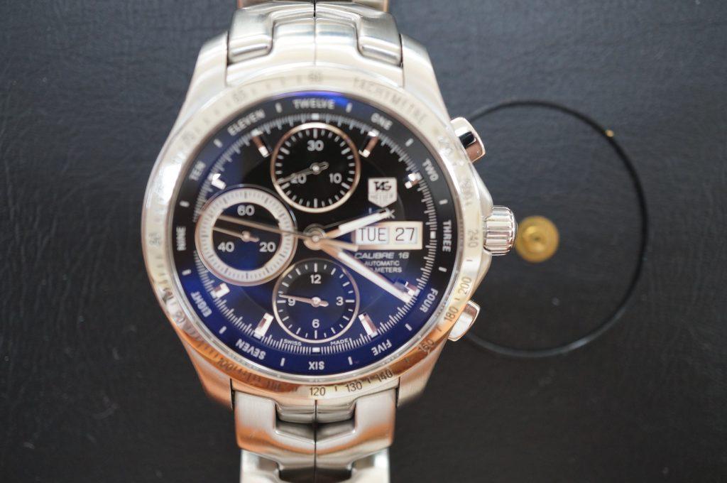 No.708  TAG HEUER CARERERA(タグホイヤー) 自動巻き腕時計を修理しました