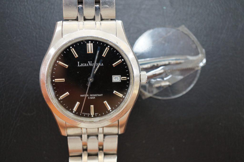 No.705   LEGRA VALENCIA クォーツ腕時計を修理しました