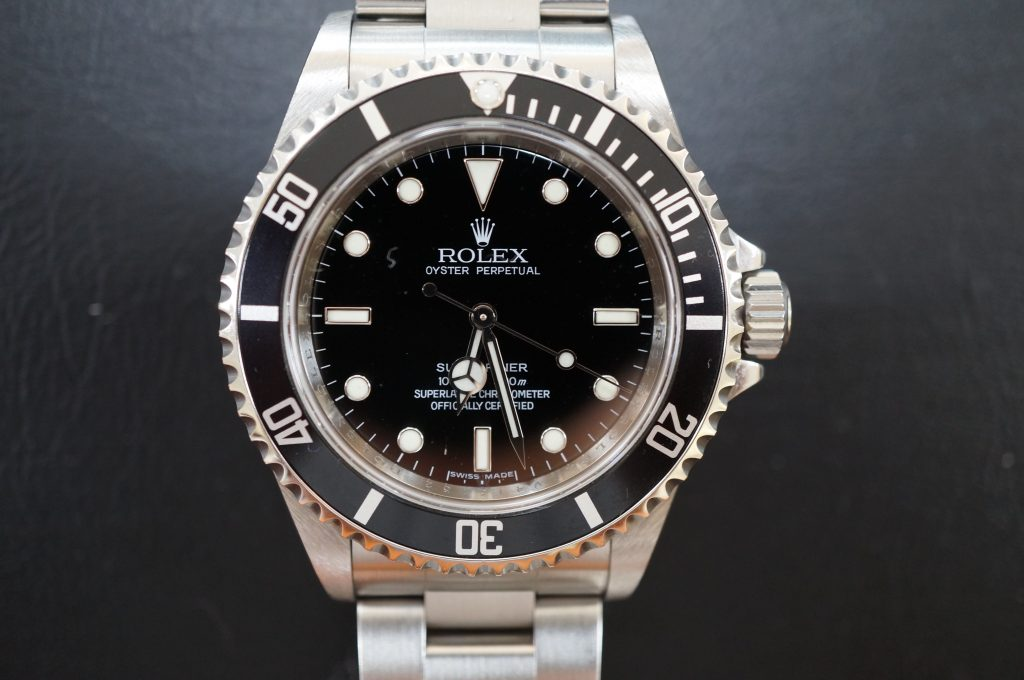 No.701  ROLEX (ロレックス サブマリーナ) 自動巻き腕時計を修理しました