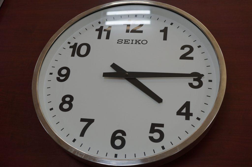 No.676   SEIKO (セイコー) クォーツ掛け時計を修理しました