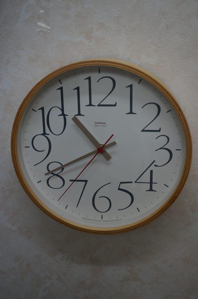 No.672   Lemnos  クォーツ掛け時計を修理しました
