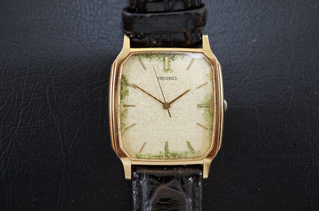 No.675   SEIKO (セイコー) クォーツ腕時計を修理しました