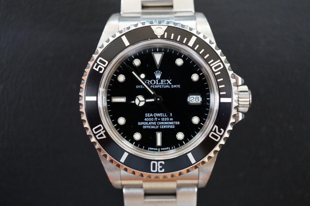 No.670  ROLEX (ロレックス ) シードゥエラー自動巻き腕時計を修理しました