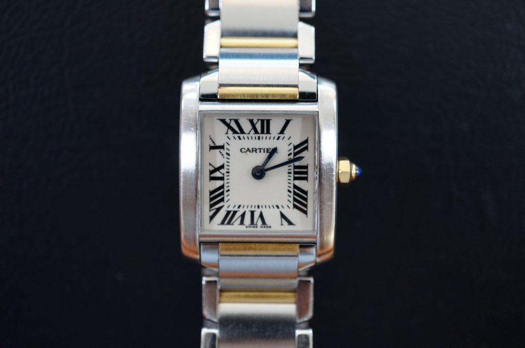No.668  CARTER (カルティエ サントス) 自動巻き腕時計を修理しました