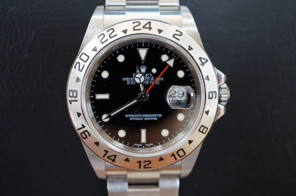 No.671  ROLEX (ロレックス ) エクスプローラ2自動巻き腕時計を修理しました