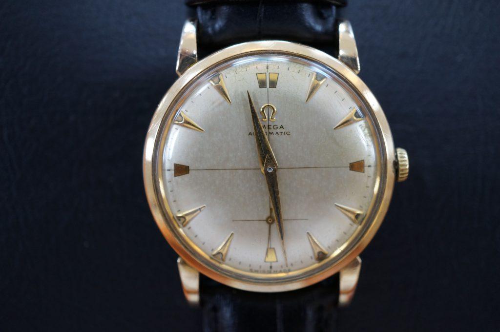 No.666  OMEGA  (オメガ) アンティーク 手巻き腕時計を修理しました