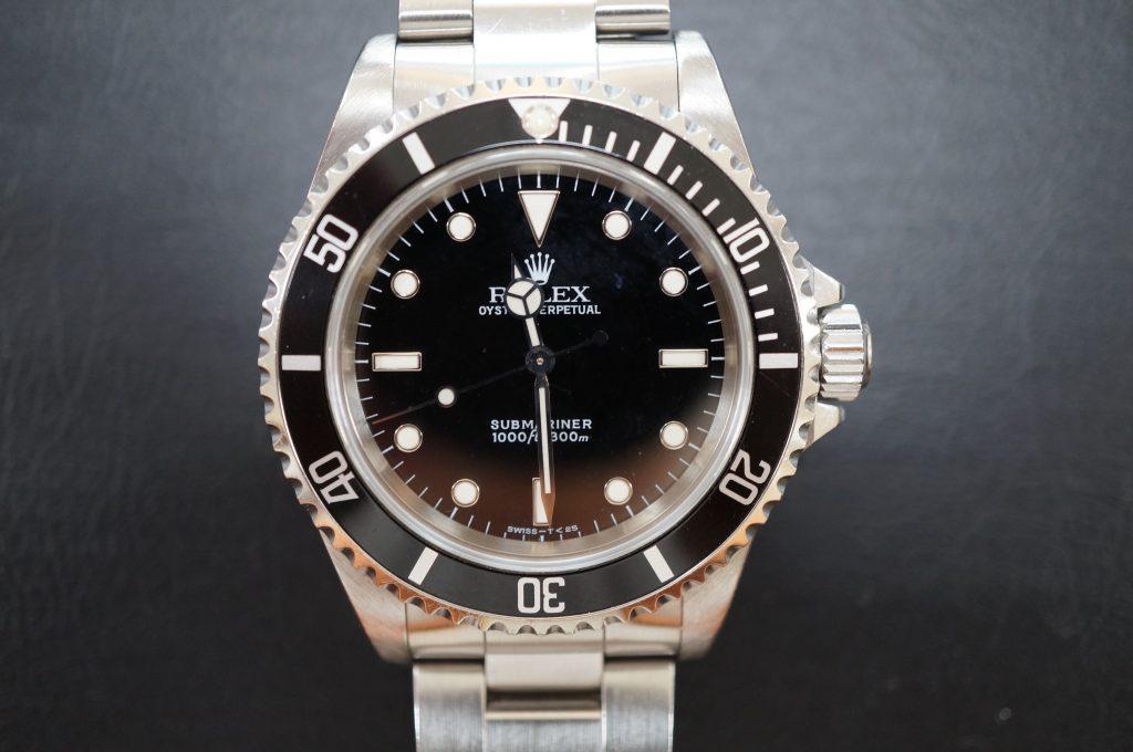 No.664  ROLEX (ロレックス サブマリーナ) 自動巻き腕時計を修理しました