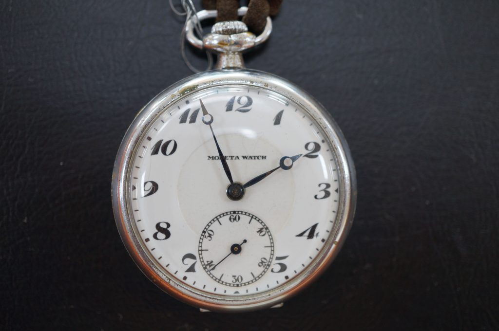 No.663  MODETA WATCH アンティーク懐中時計を修理しました