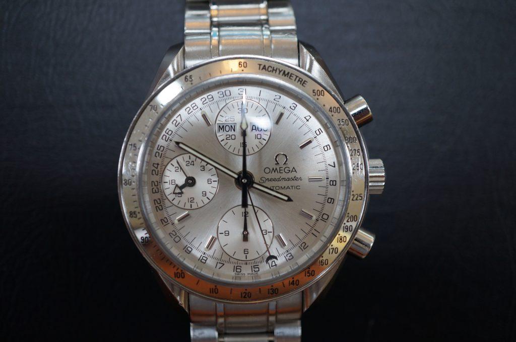 No.661  OMEGA Speedmaster (オメガスピードマスター) 自動巻き腕時計を修理しました