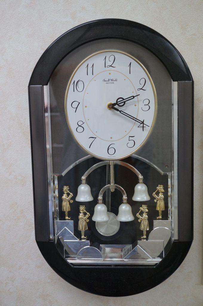 No.658   Small Warld (リズム) クォーツ掛け時計を修理しました