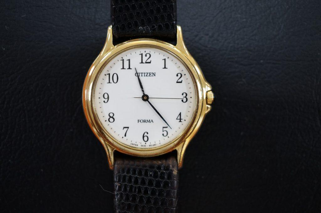 No.657   CITIZEN (シチズン) クォーツ腕時計を修理しました