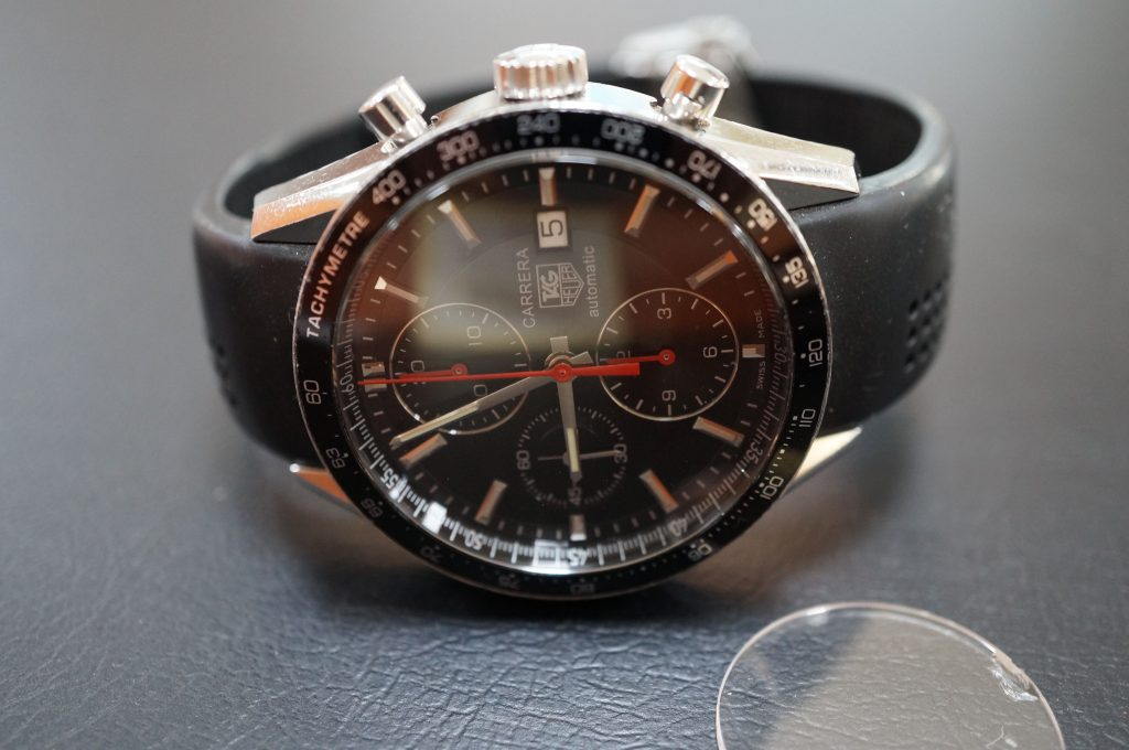 No.721  TAG HEUER CARERERA(タグホイヤー) 自動巻き腕時計を修理しました