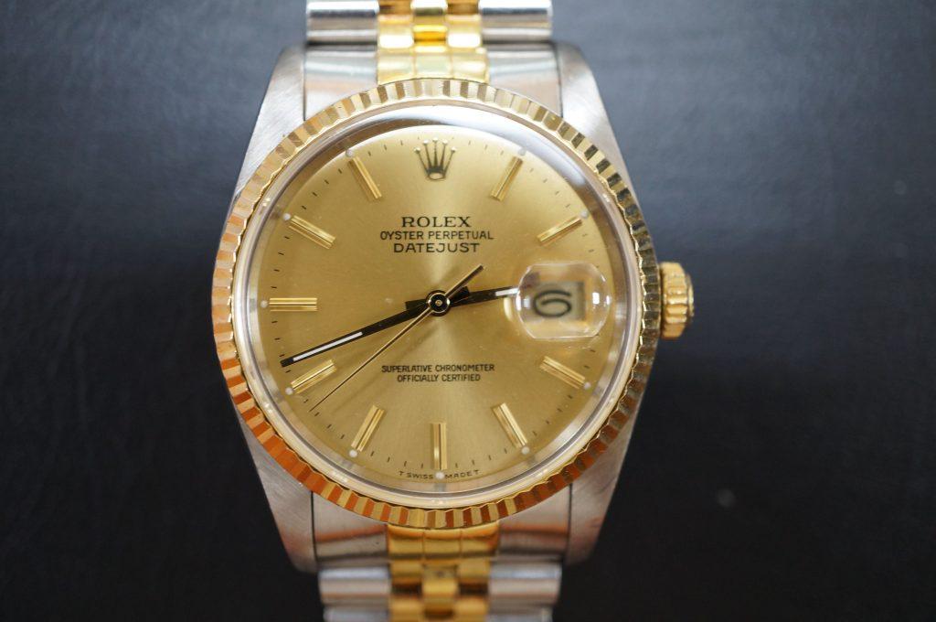 No.720  ROLEX (ロレックス) 自動巻き腕時計を修理しました