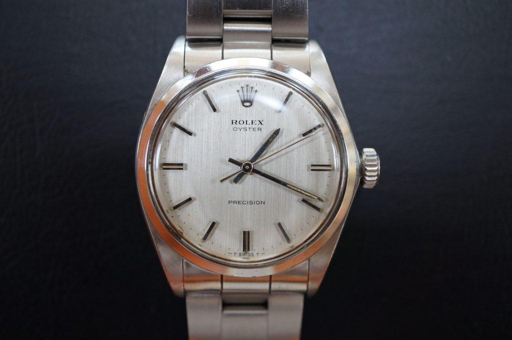 No.725  ROLEX (ロレックス) 自動巻き腕時計を修理しました