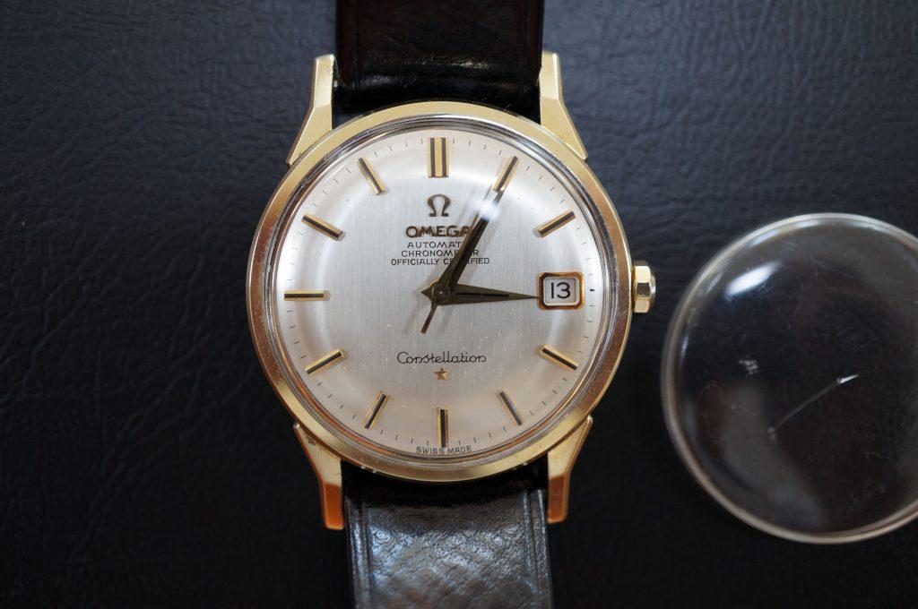 No.724  OMEGA  (オメガ) 手巻き腕時計を修理しました