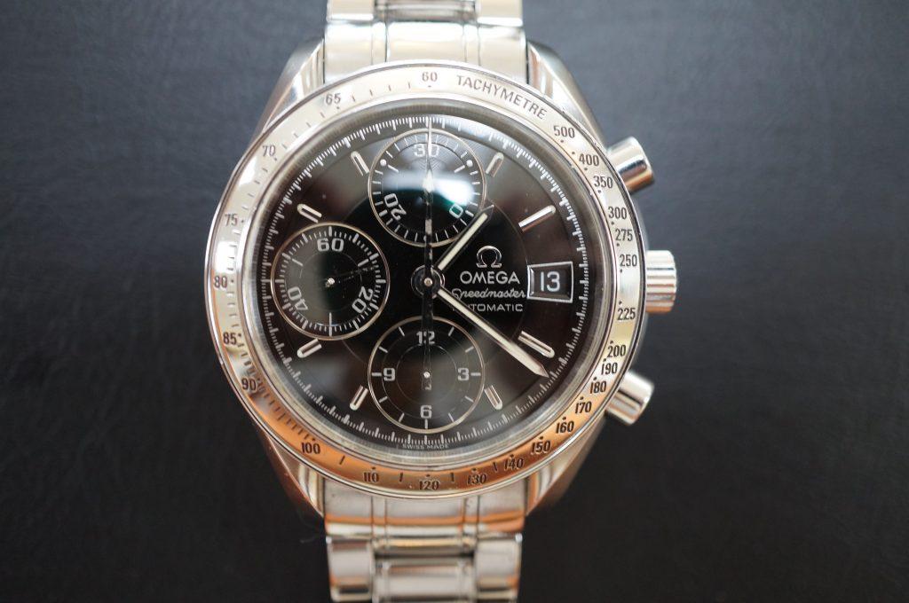 No.723  OMEGA Speedmaster (オメガスピードマスター) 自動巻き腕時計を修理しました