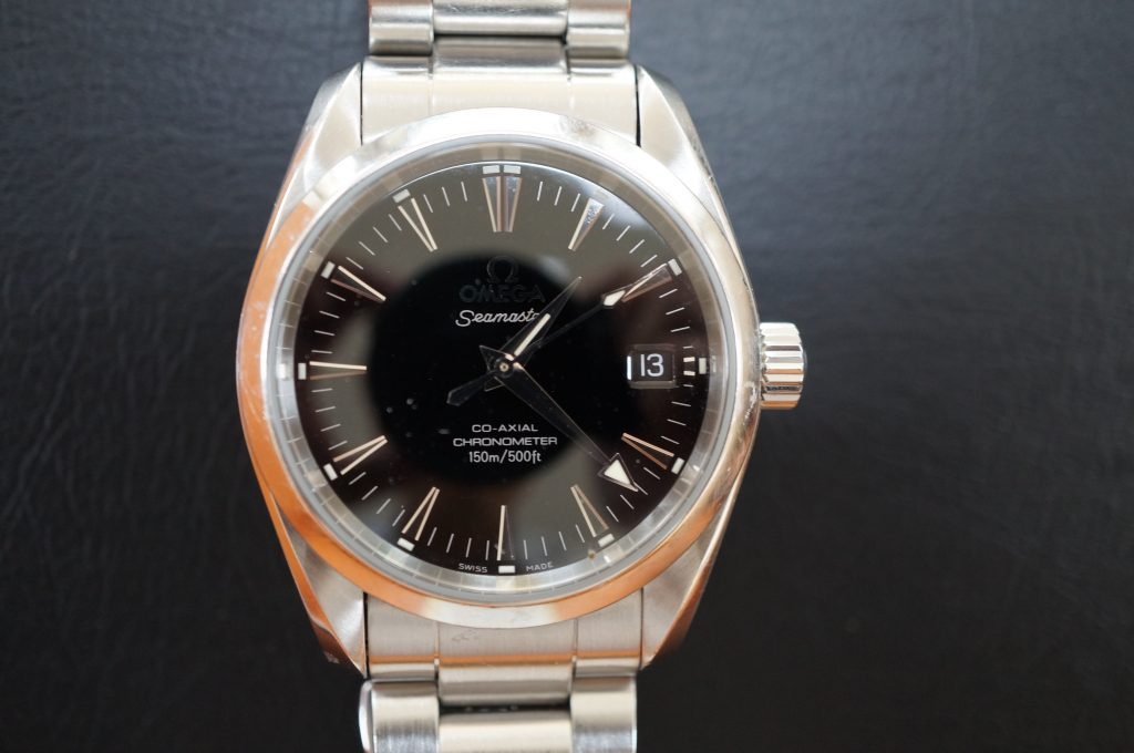 No.722   OMEGA Seamaster (オメガ シーマスター )  自動巻き腕時計を修理しました