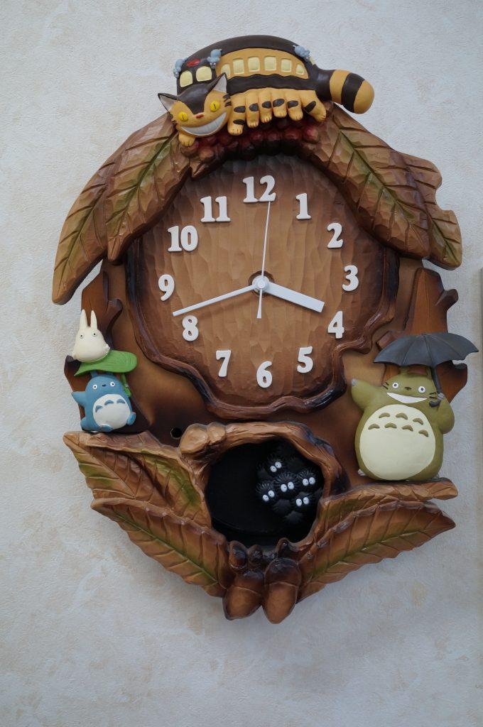 No.726  オリジナルキャラクター 掛け時計を修理しました