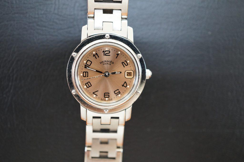 No.741  HERMES (エルメス) クォーツ腕時計を修理しました