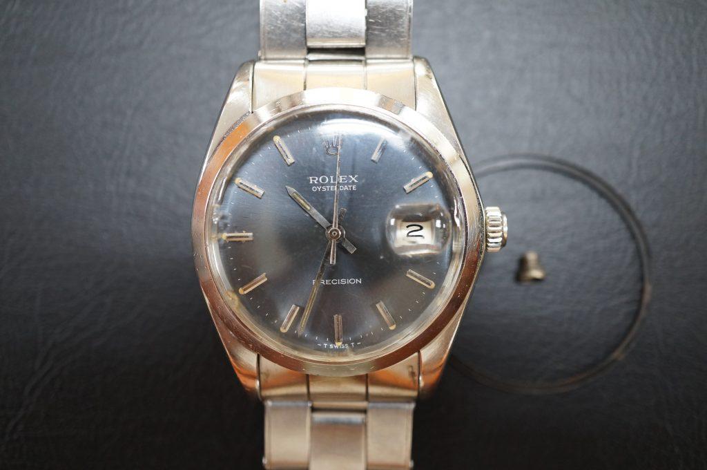 No.731  ROLEX (ロレックス) 自動巻き腕時計を修理しました