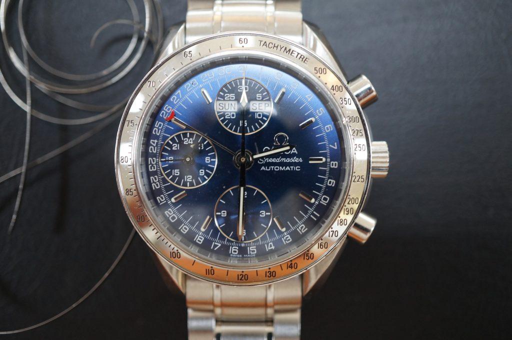 No.733  OMEGA Speedmaster (オメガスピードマスター) 自動巻き腕時計を修理しました